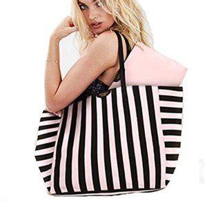 Victoria's Secret Tote Bag & Bonus Cosmetic Bag